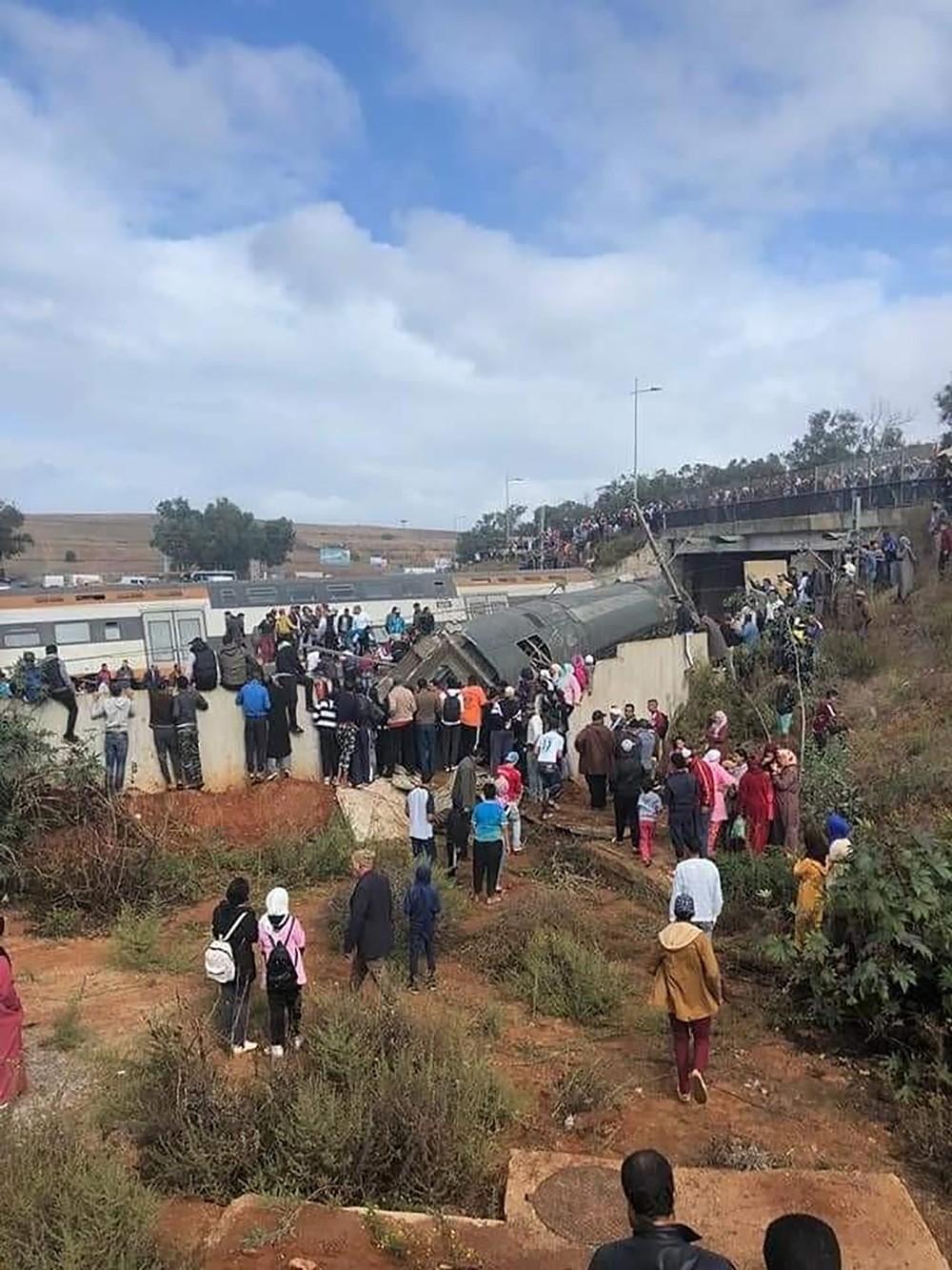 بعد الحادث القاتل.. استئناف حركة القطارات في المغرب