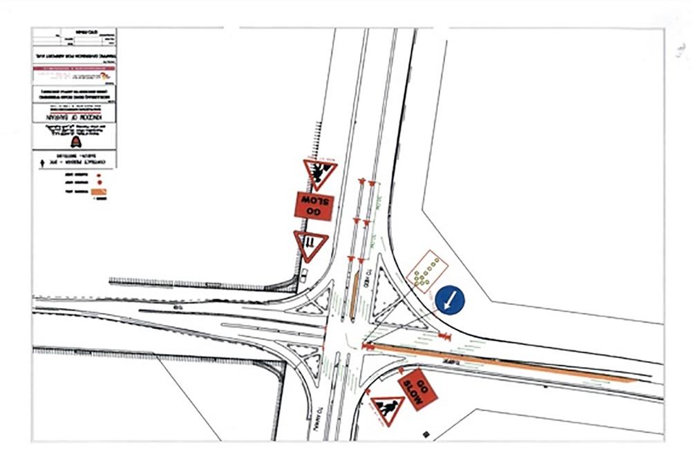 الأشغال تعلن عن غلق مسار على مراحل على تقاطع شارع الحد مع شارع الحوض الجاف