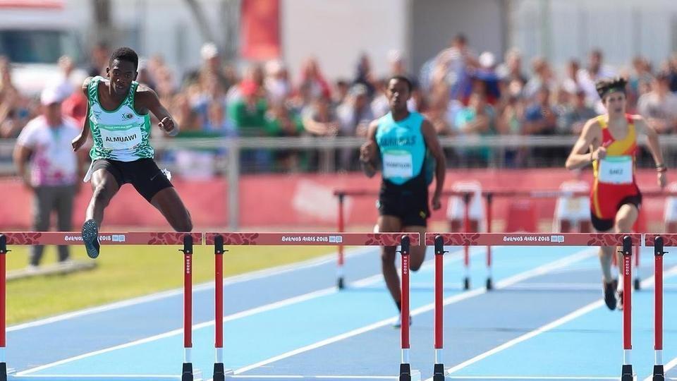 العداء المعاوي يصل نهائي سباق 400م