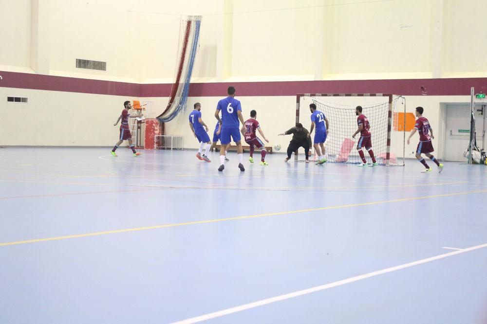 استمرار منافسات البطولة التنشيطية الثانية لكرة الصالات