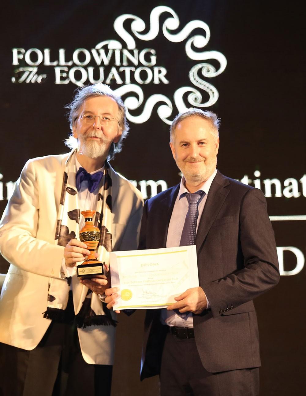 دائرة الثقافة والسياحة - أبوظبي تفوز بجائزتيّن في مهرجان المالديف الدولي للأفلام السياحية