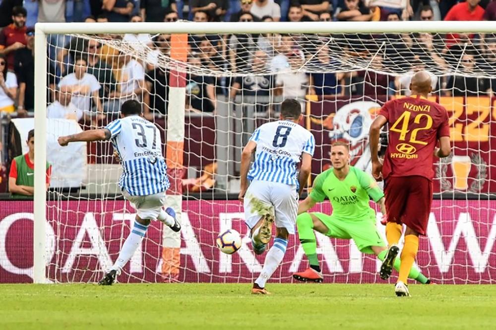 بطولة إيطاليا: سبال يوقف صحوة روما