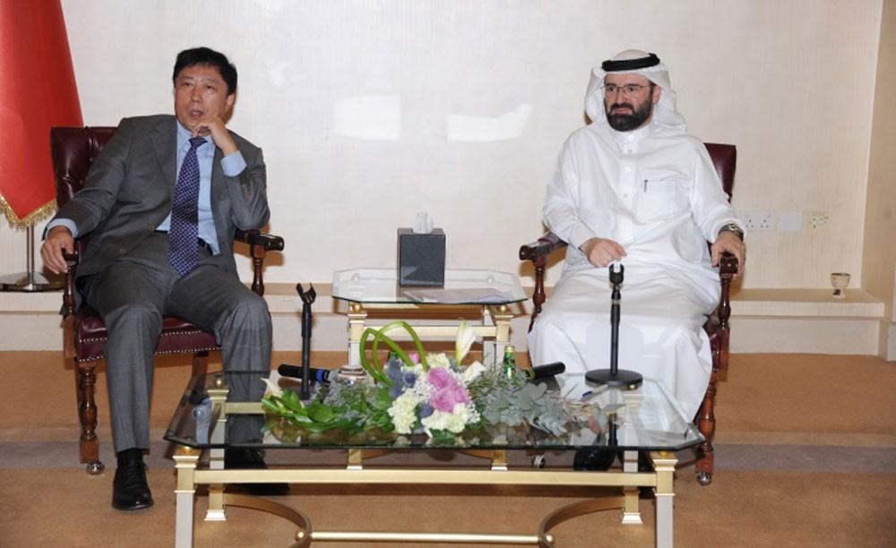 الغرفة تبحث تنمية وتعزيز فرص الاستثمار البحرينية الصينية المشتركة