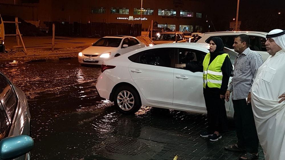 مدير بلدية الشمالية: العمل على إزالة تجمعات ومخلفات الأمطار