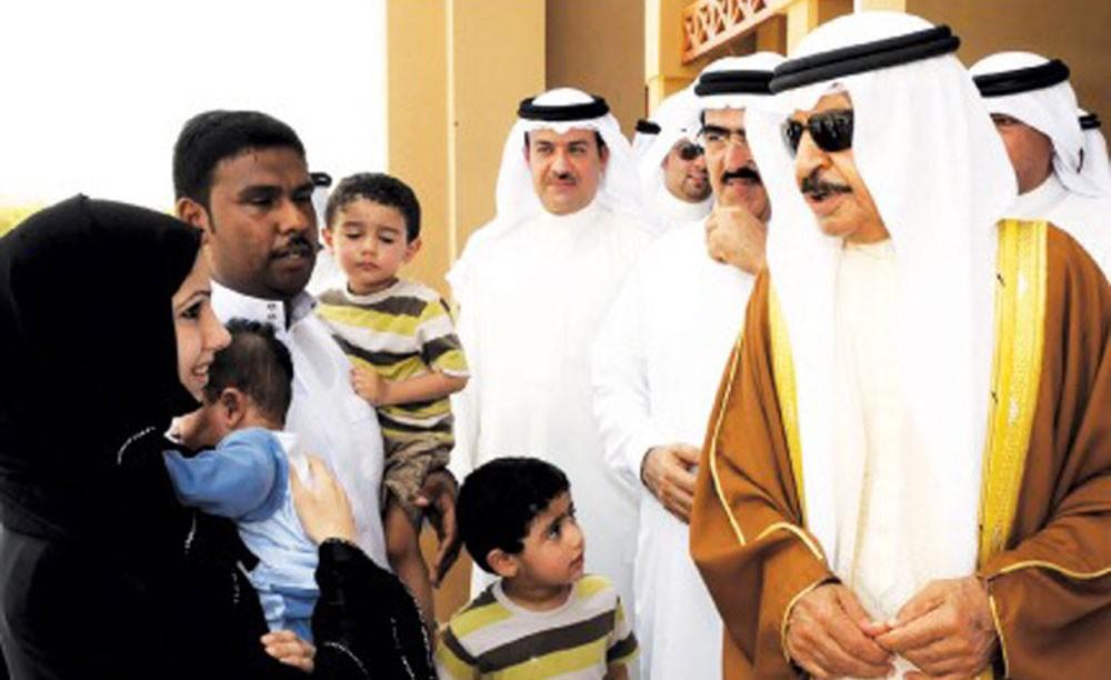 اهالي شرق المحرق يشكرون سمو رئيس الوزراء على اهتمامه في المحافظة