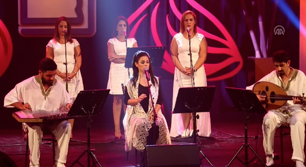 الفنانة دالين جبور تحيي الموسيقي الصوفية في مركز الشيخ إبراهيم