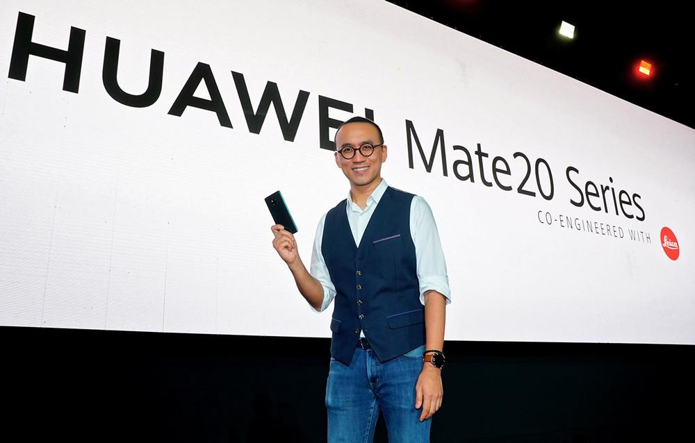 هواوي تطلق ملك الهواتف الذكية Huawei Mate 20 Series