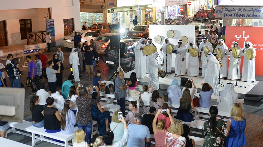 الموسيقى الأصيلة والحرف تحضر إلى باب البحرين