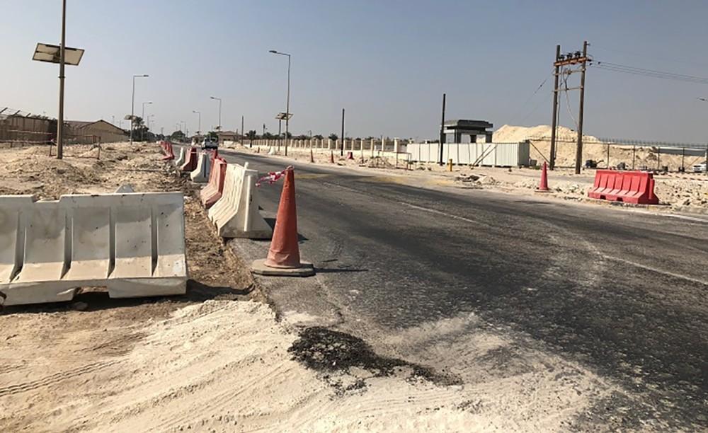 الأشغال تبدأ تطوير شارع سترة بمنطقة عوالي