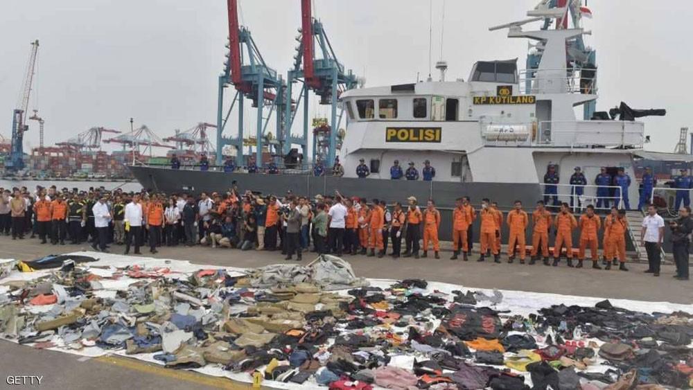 السلطات الإندونيسية تكتشف عطلا في الطائرة المنكوبة