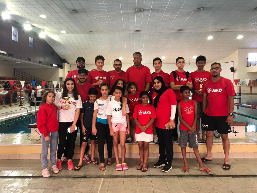 فريق بيست يشارك في بطولة Nautilus Annual Swim Meet الدولية بمسقط