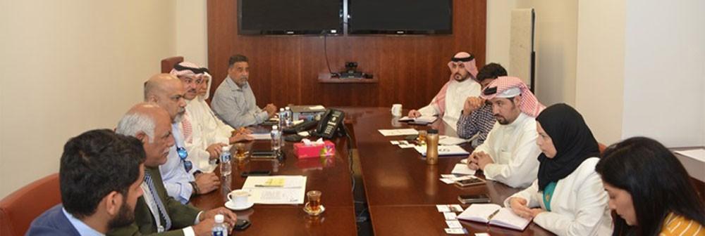 وزارة الصناعة تجتمع بممثلي نقابة البحرين اللوجستية