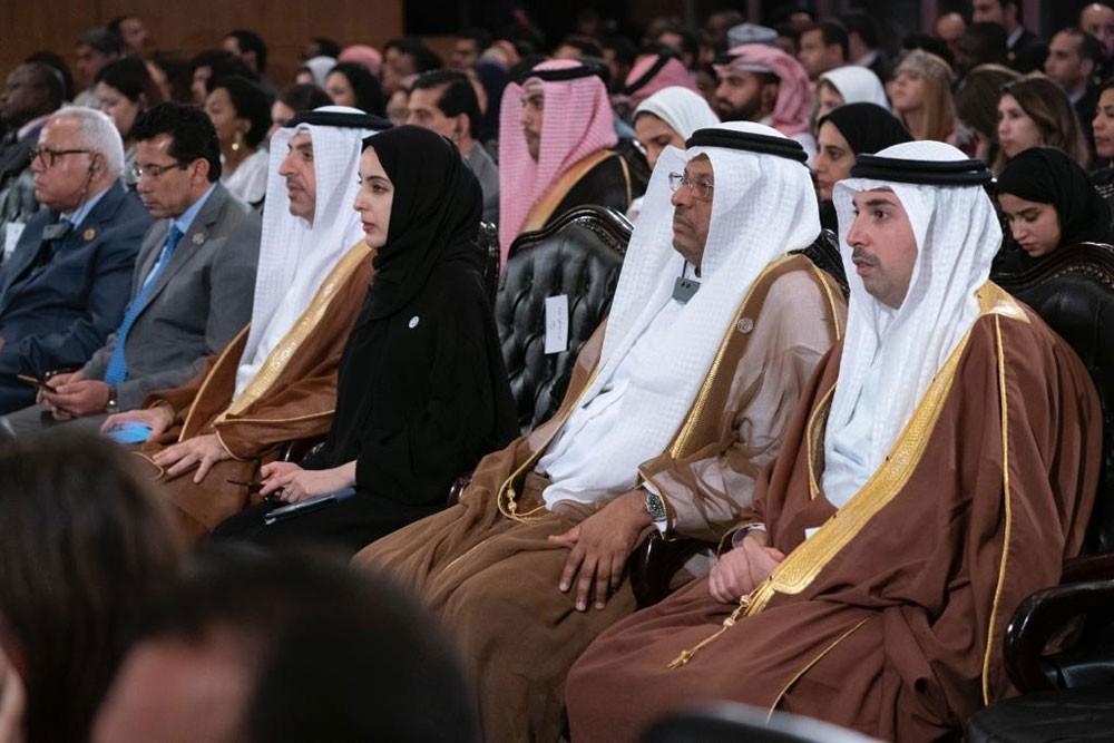 الجودر يشهد احتفاء منتدى شباب العالم بالمغفور له الشيخ زايد
