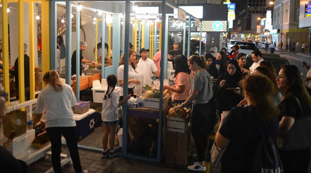الثقافة تستقطب الجمهور إلى باب البحرين