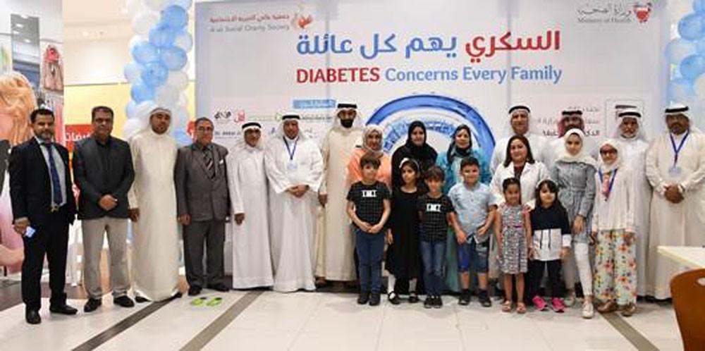 """وكيل مساعد الصحة تفتتح فعالية """"السكري والعائلة"""" بمجمع الرملي"""