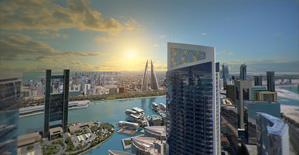 تدشين المشروع العقاري المبتكر غولدن غيت في خليج البحرين بحضور كبار الشخصيات