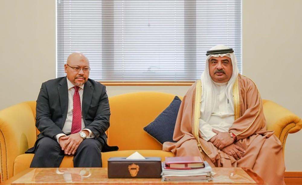 سمو الشيخ سلمان بن خليفة يؤكد حرص البحرين على تعزيز التعاون مع بروناي
