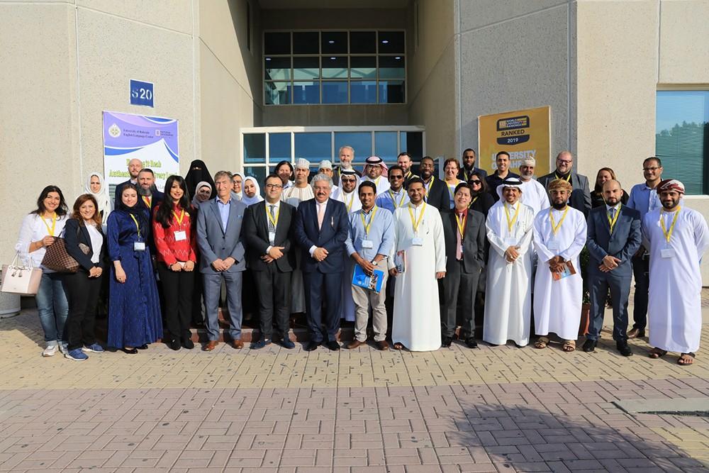 وفد خليجي يطلع على تجربة جامعة البحرين في تطوير برنامجها التمهيدي