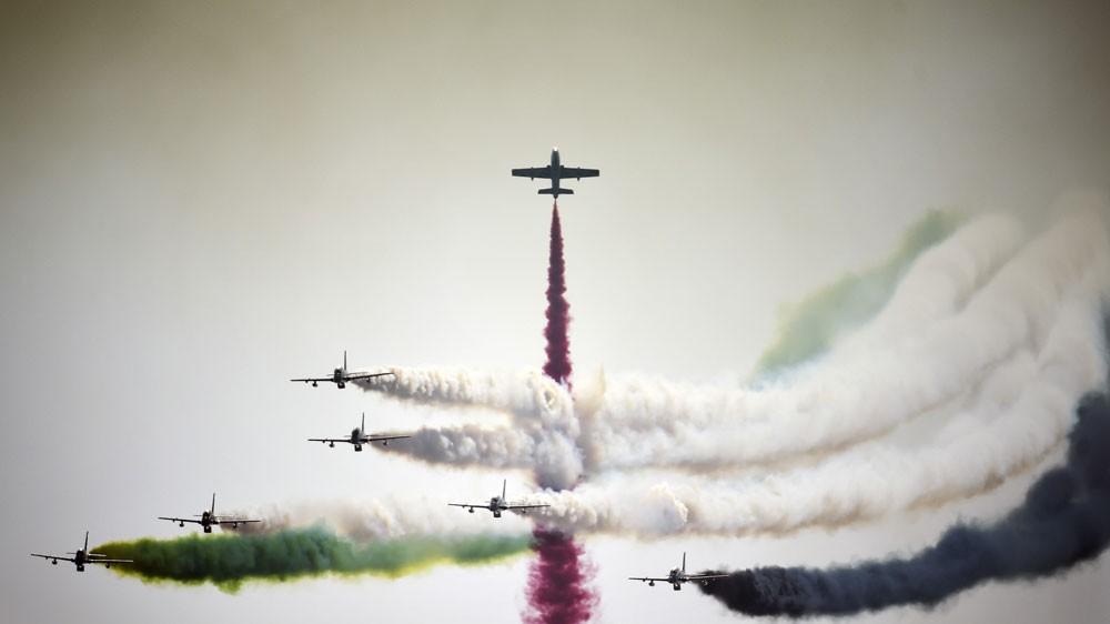 غدا الأربعاء ،، إنطلاق معرض البحرين الدولي للطيران في نسخته الخامسة