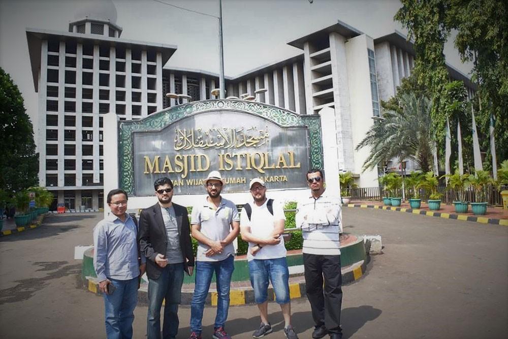 أكبر المساجد في جنوب شرق اسيا