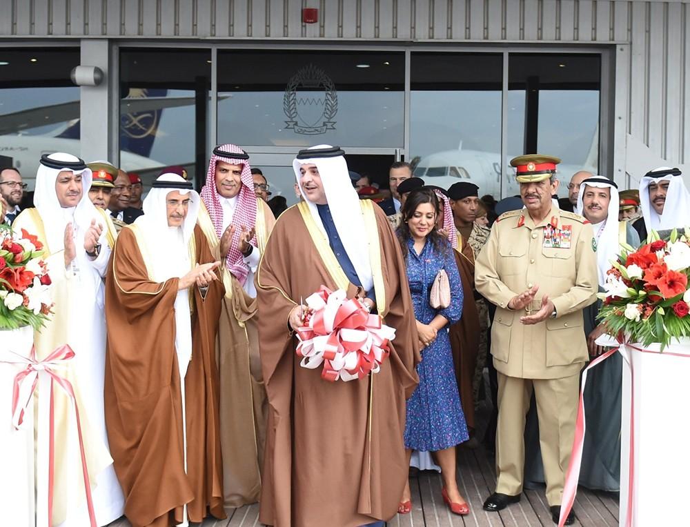 سمو ممثل الملك يفتتح معرض البحرين الدولي للطيران