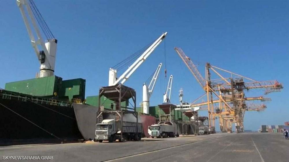 التحالف العربي يرصد صاروخا حوثيا استهدف ميناء الحديدة