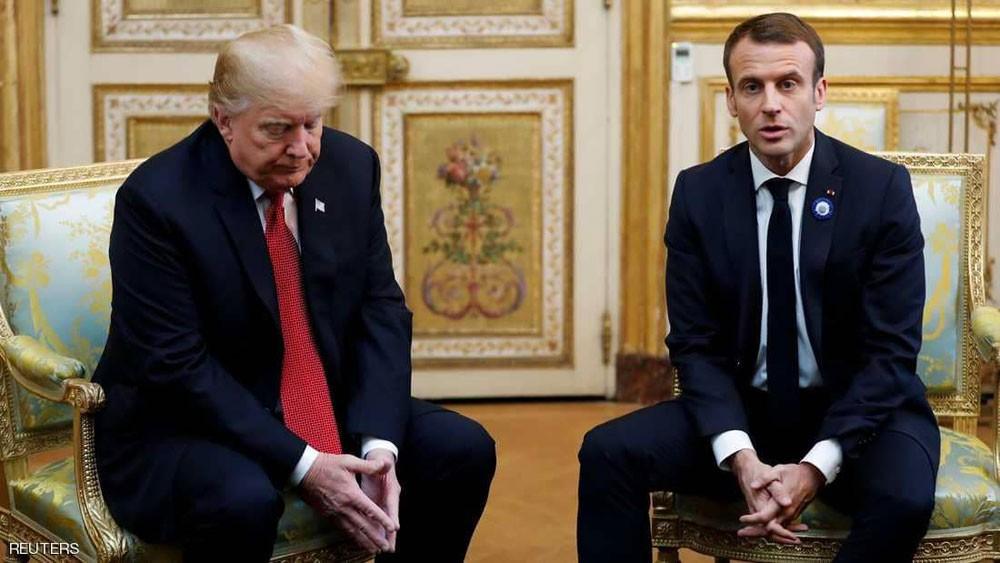 """فرنسا ترد على """"حرب تغريدات"""" ترامب.. بدبلوماسية"""