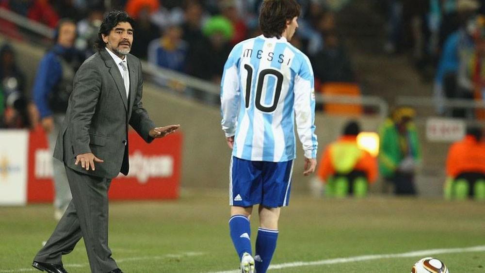 مارادونا ينكر تصريحاته ضد ميسي..ويتمنى تدريب ريال مدريد