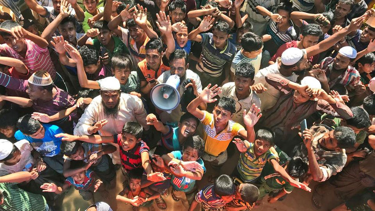"الروهينغا لبنغلادش: ""لن نعود"""