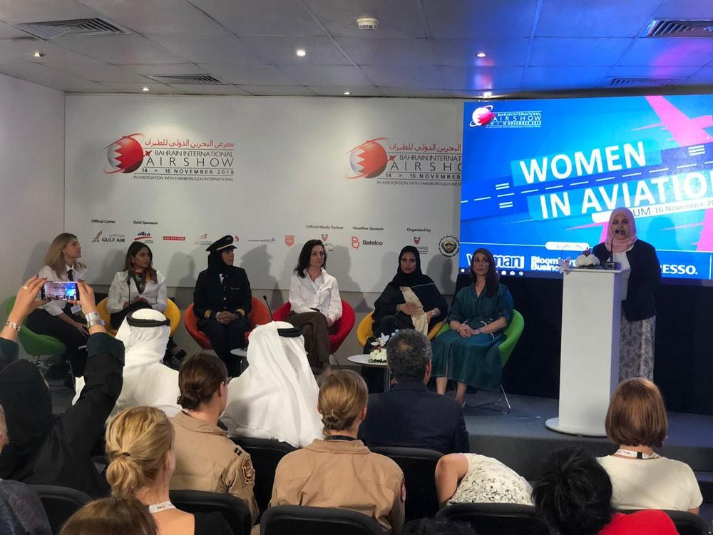 %23 نسبة البحرينيات العاملات بقطاع الطيران