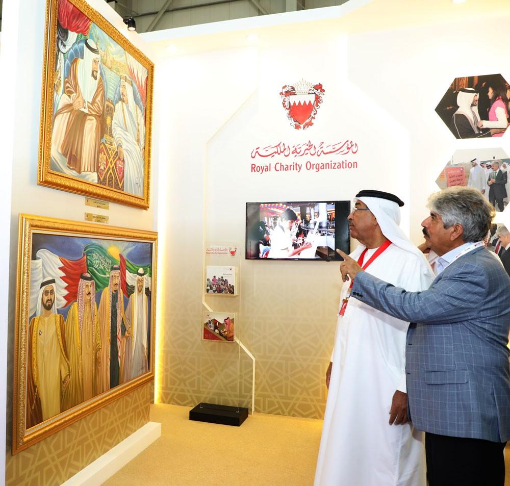الخيرية الملكية تشارك في معرض البحرين للطيران