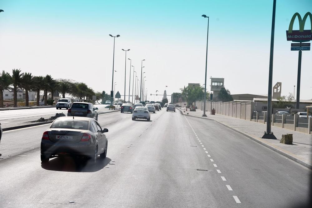 تطوير شارع ولي العهد قّلل زمن الانتظار للمركبات بنسبة 36%