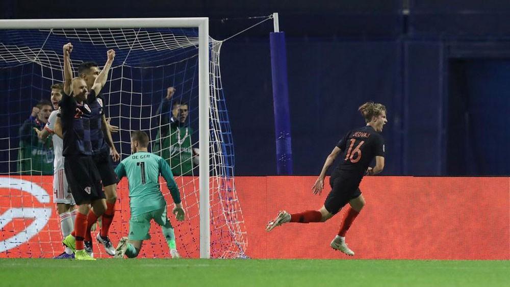 كرواتيا تنتقم من سداسية إسبانيا بهدف في الدقيقة الأخيرة
