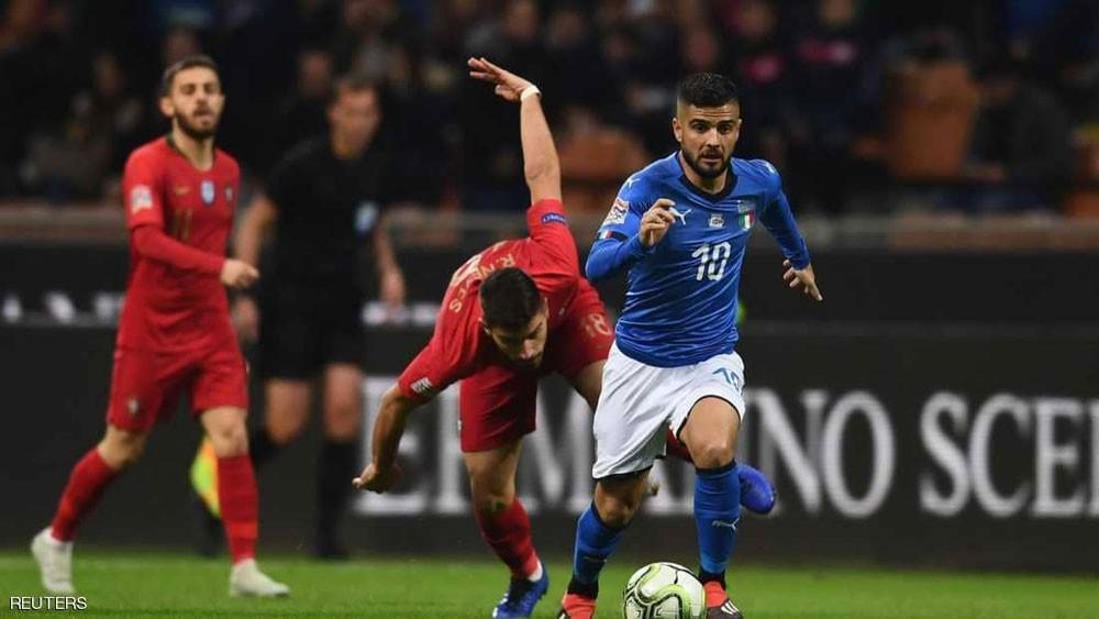 البرتغال تعبر إيطاليا إلى قبل نهائي أمم أوروبا