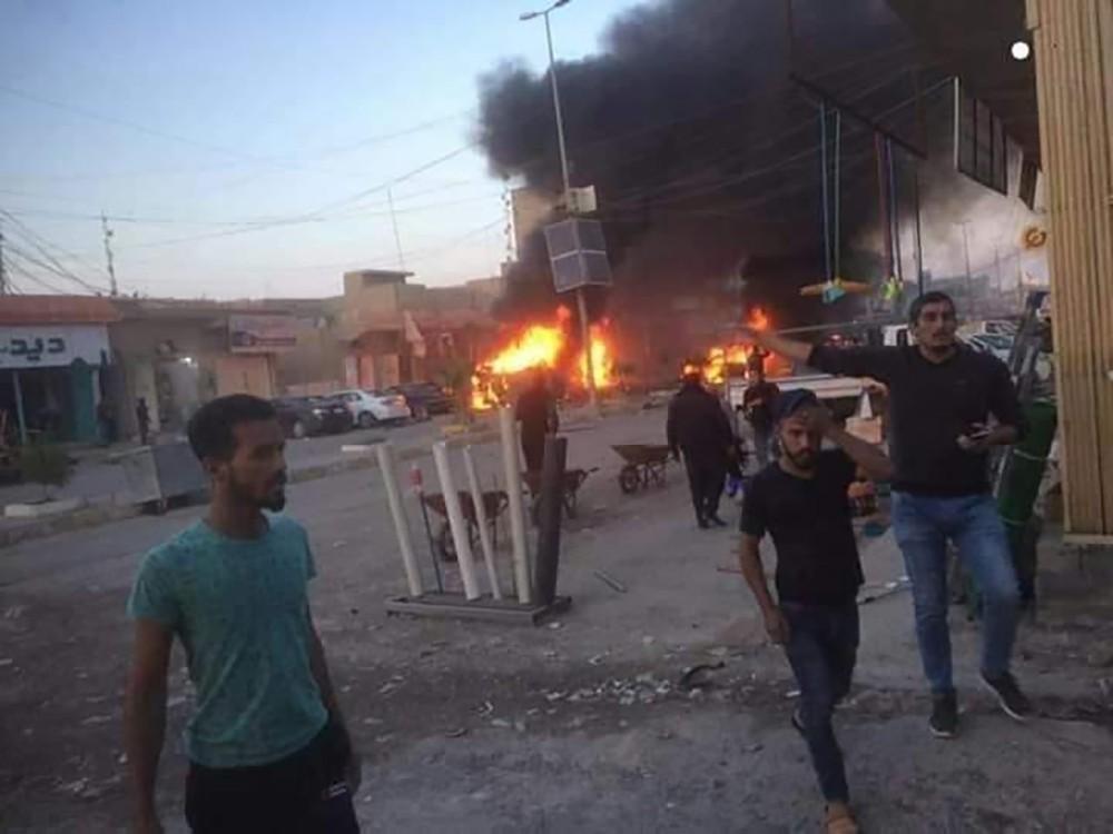5 قتلى بانفجار سيارة مفخخة شمال بغداد