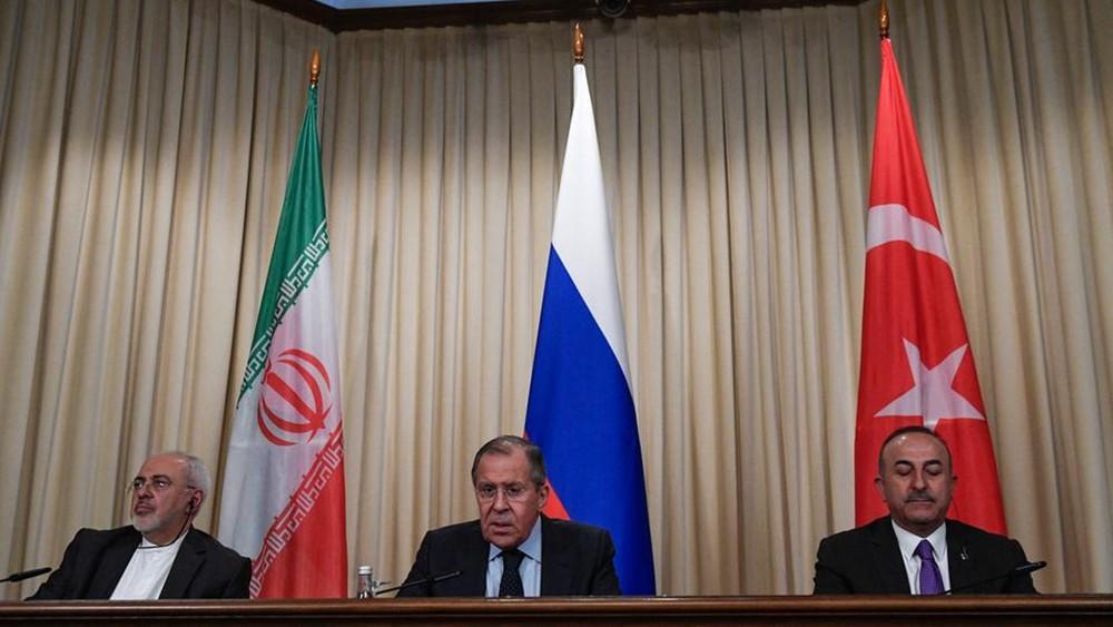 محادثات روسية تركية إيرانية حول سوريا الأسبوع القادم