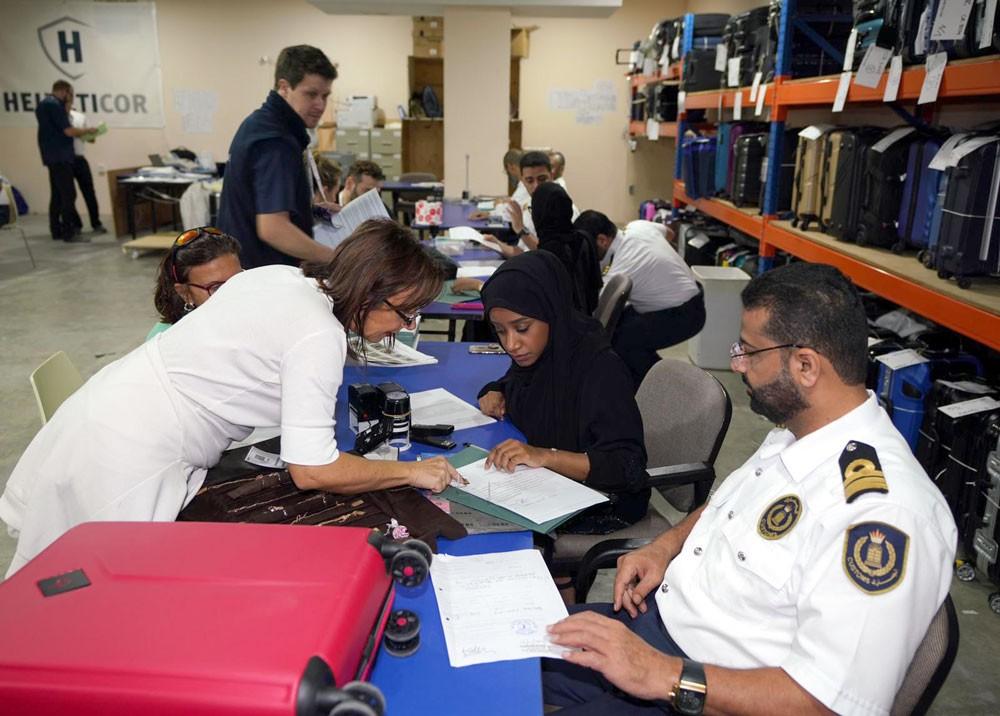 """""""الجمارك"""" تنهي 629 معاملة في سبيل انجاح معرض الجواهر العربية 2018"""
