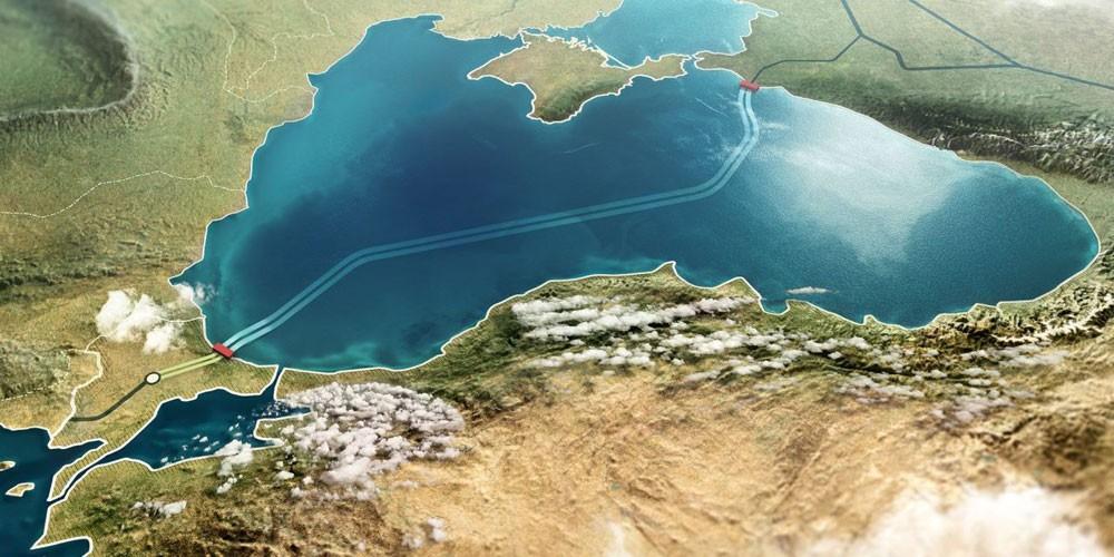 غازبروم : الجزء البحري من خط ترك ستريم الذي سينقل الغاز الروسي إلى تركيا اكتمل