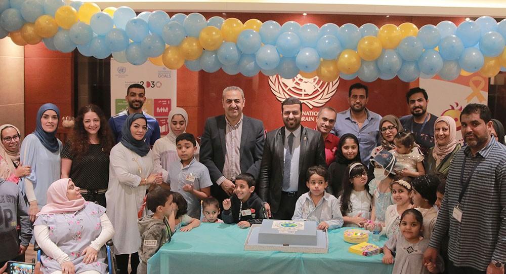 """مبادرة """"ابتسامة"""" تحتفل باليوم العالمي للطفل في بيت الأمم المتحدة"""