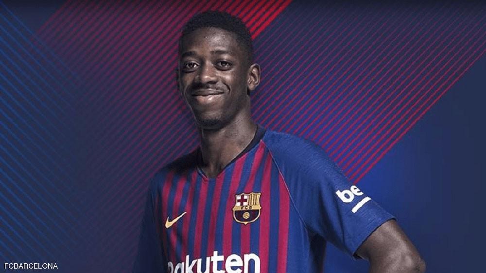 """برشلونة في """"ورطة"""" بسبب عثمان ديمبلي"""