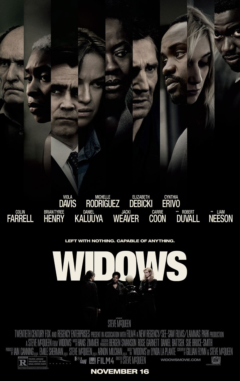 """عشاق فايولا دافيس على موعد مع فيلم """"Widows"""""""