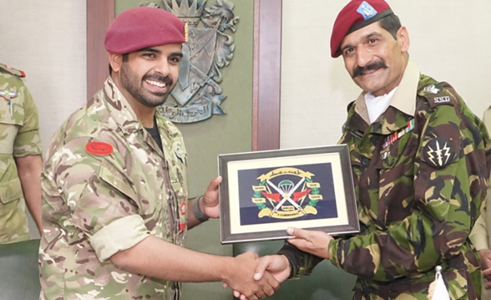 """توقيع مذكرة تفاهم مع الجيش الباكستاني لتنفيذ تمرين """"بدر 3"""" لمكافحة الإرهاب"""