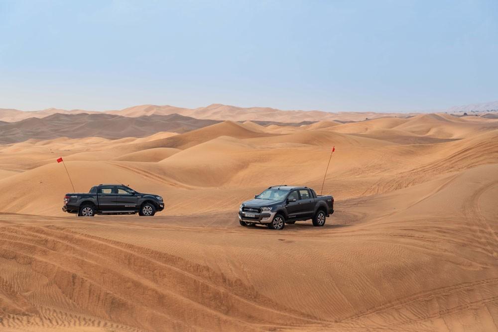نصائح القيادة في الصحراء من فورد