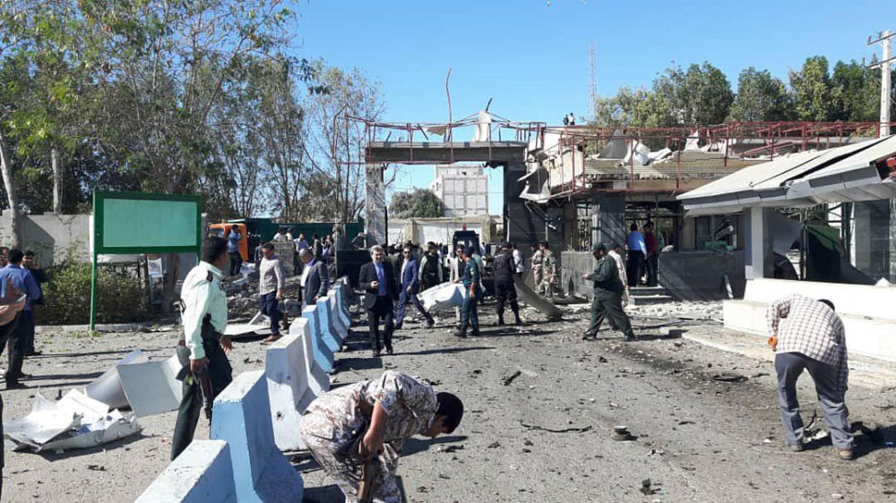 إيران.. هجوم انتحاري يستهدف مقراً للشرطة في تشابهار