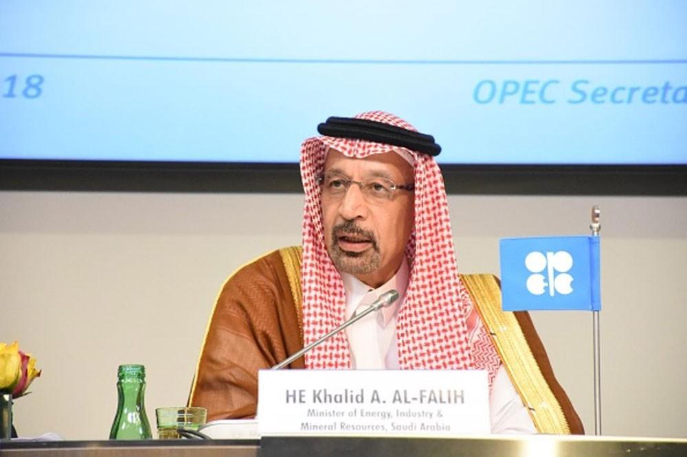 الفالح: راضون بأسعار النفط حاليا وجميع الخيارات مطروحة