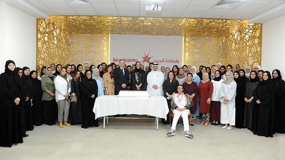 البوليتكنك تحتفي بيوم المرأة البحرينية ومنجزاتها