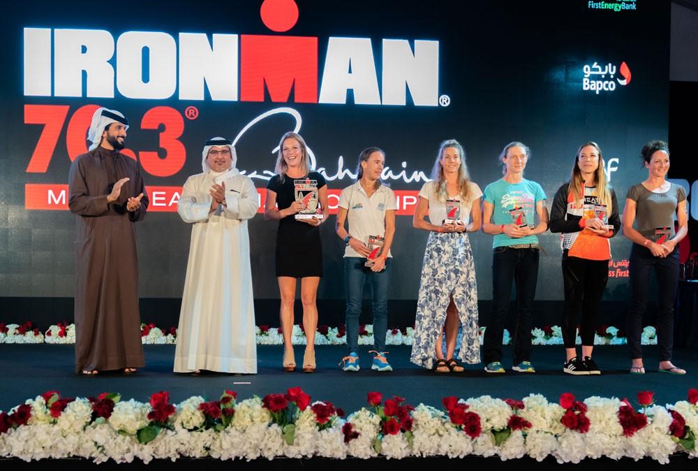سمو ولي العهد : نفتخر ونعتز بالنجاحات المستمرة لمملكة البحرين في الترايثلون
