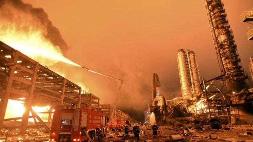 الصين:3 قتلى بانفجار في مصنع للكيماويات بمنطقة شينغيانغ