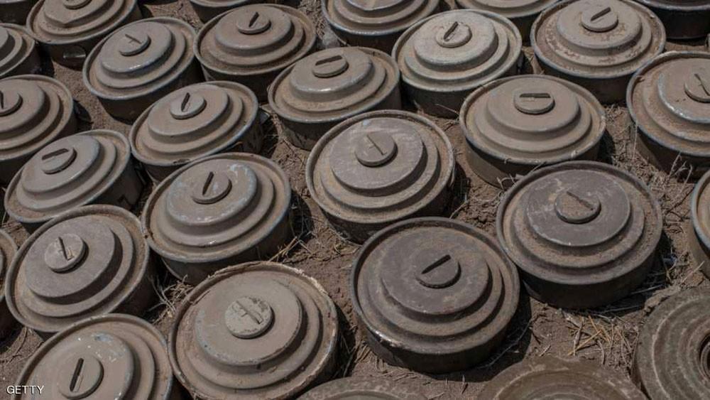 اليمن.. نزع آلاف الألغام الحوثية في ديسمبر