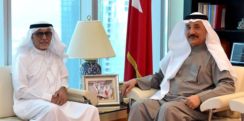 حميدان يستقبل رئيس مجلس إدارة جمعية الكوثر لرعاية الايتام